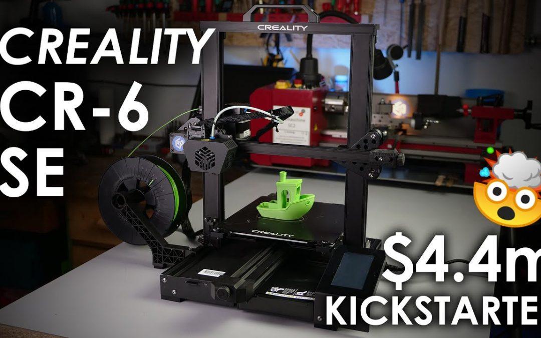 Creality CR-6 SE – The NEW (over)hyped Kickstarter 3D printer?