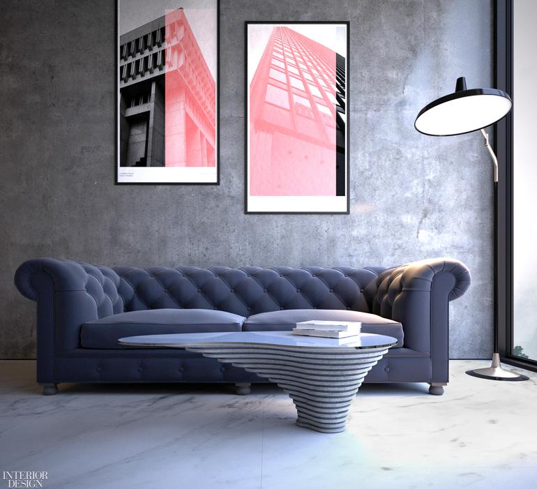 edg Reveals 3-D Printed Cast Concrete Collection