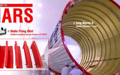 China's Long March-5 Rocket Has 50 3D Printed Parts
