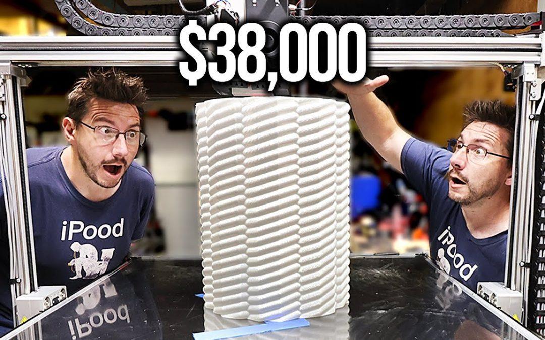 I Broke a $38,000 3D Printer