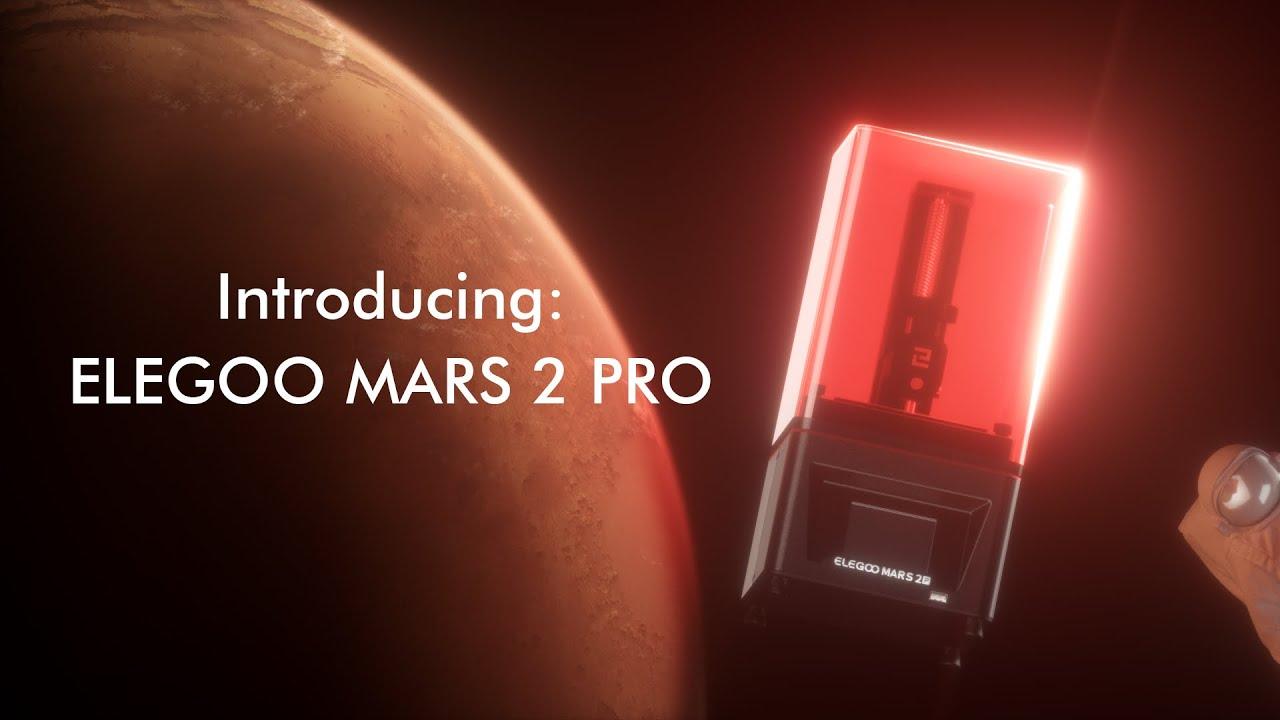 Introducing: ELEGOO Mars 2 Pro LCD 3D Printer