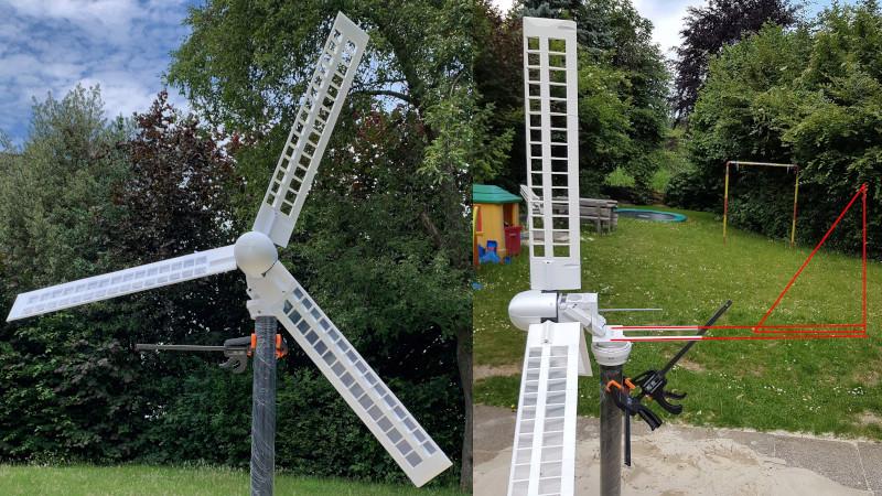 HAWT Wind Turbine Is Mostly 3D Printed