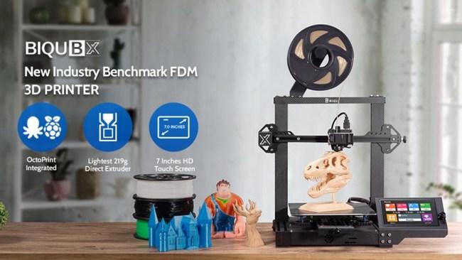 BIQU Announces the Launch of BIQU BX – World's Lightest Direct Extruder FDM 3D Printer