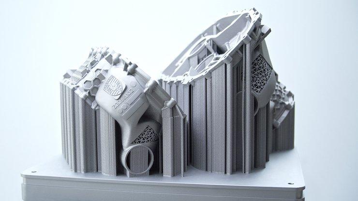 Porsche leverages SLM Solutions NXG XII 600 metal 3D printing tech for proof of concept part