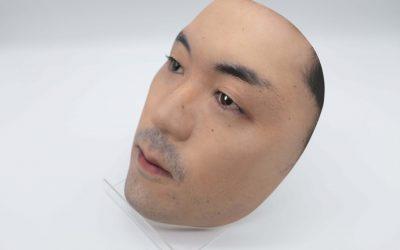 Japanese Shop Sells Hyperrealistic 3D-printed Face Masks