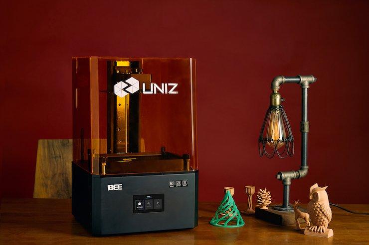 UNIZ launches IBEE LCD 3D printing system via Kickstarter