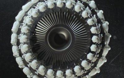 3D printed zoetrope shows benefits of 3D printing in Rolls Royce IntelligentEngine program