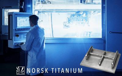Norsk Titanium Delivers 3D Printed Titanium Components for Boeing 787 Dreamliner