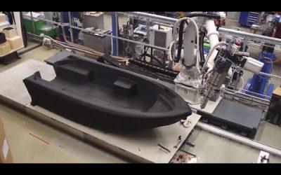 3D Printed Motorboat